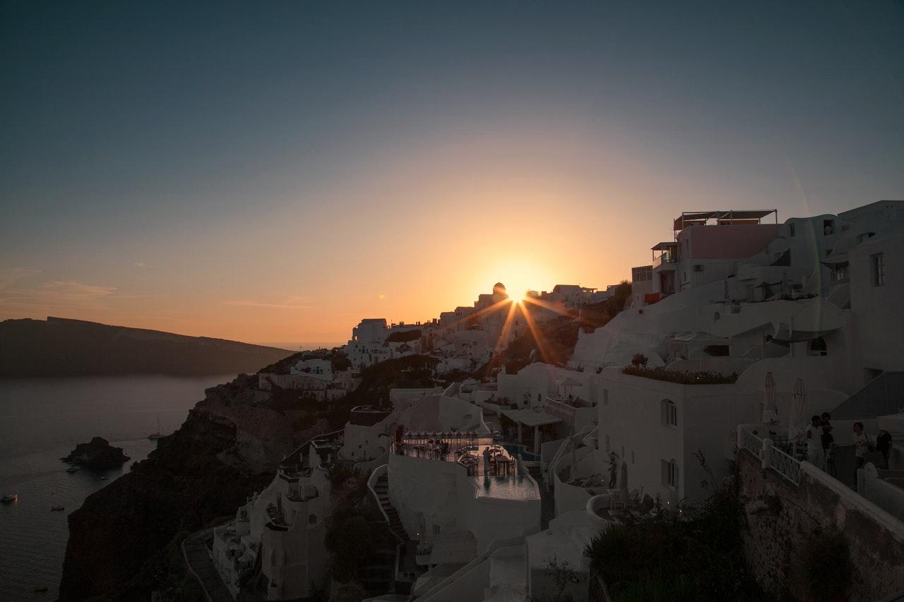 I tramonti più belli di Santorini