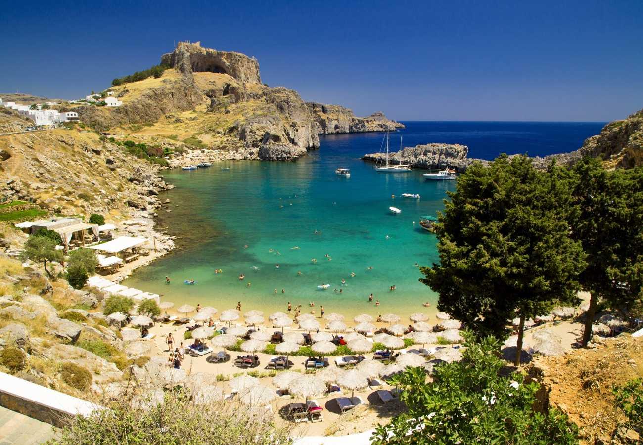 Collegamenti isola di Rodi dall'Italia