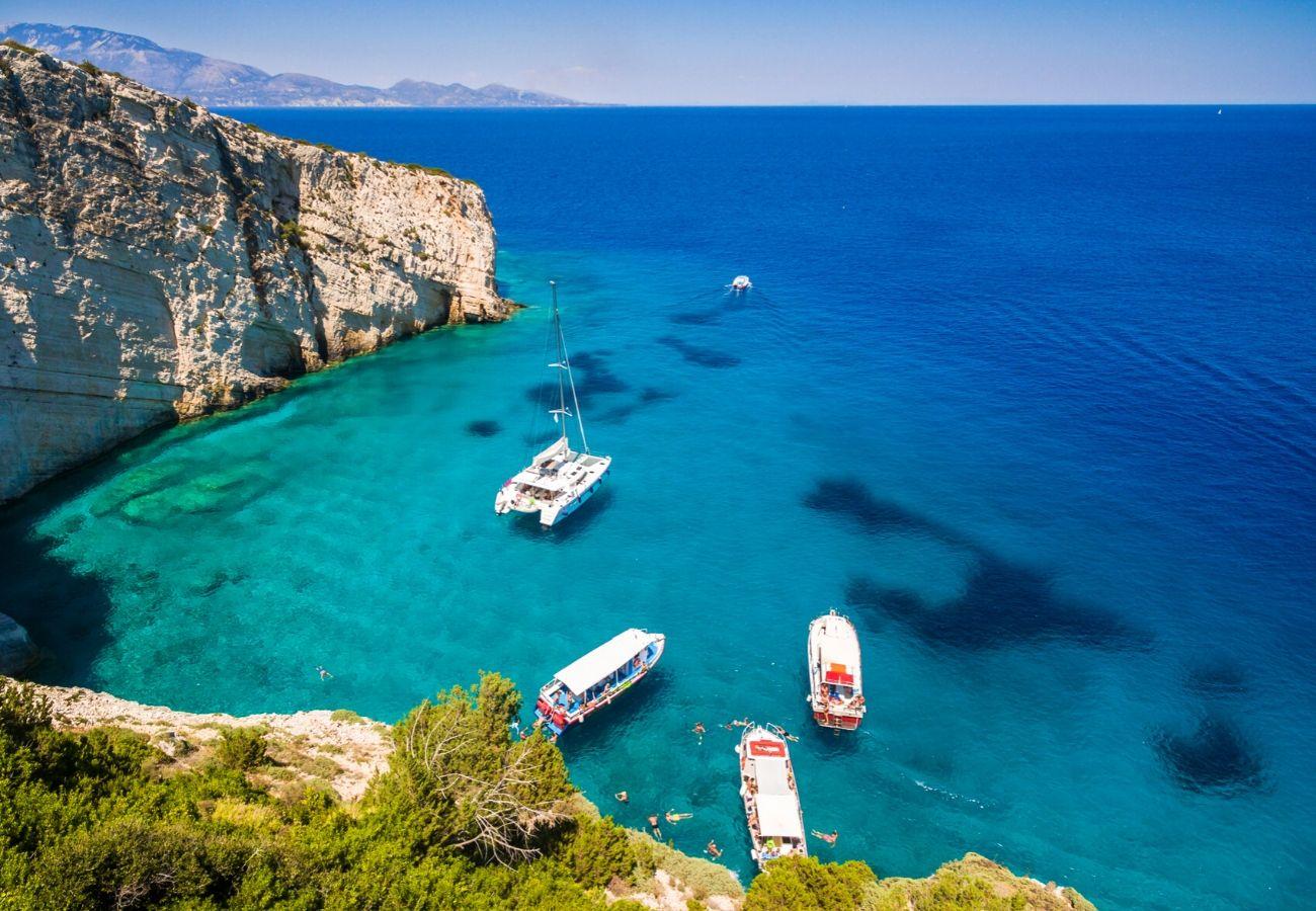 Collegamenti isola di Zante dall'Italia